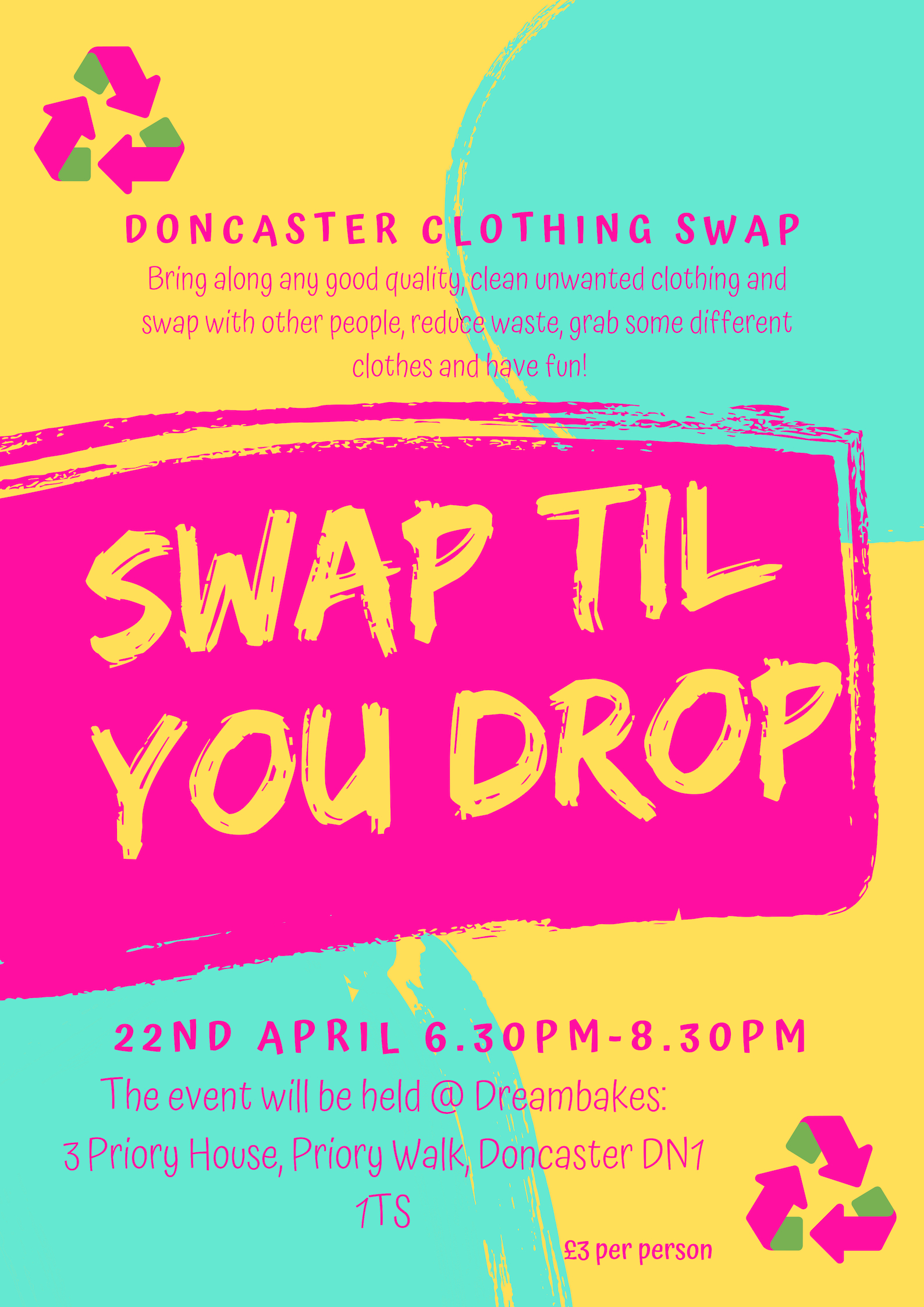 Doncaster Clothing Swap JPG
