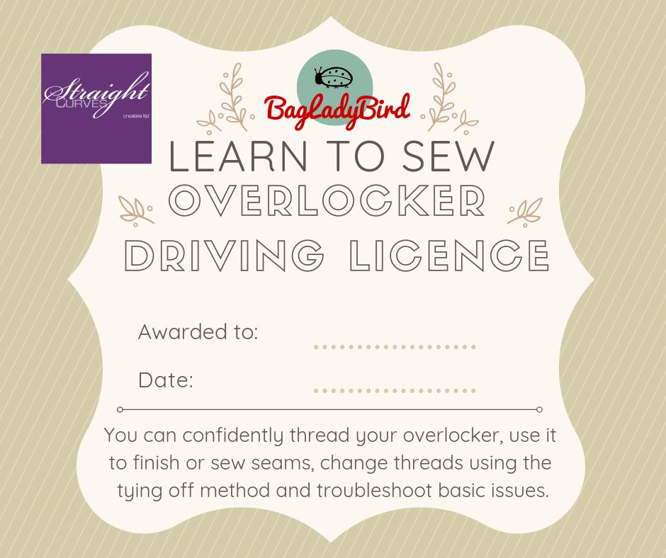 Overlocker Driving Licence - StraightCurves