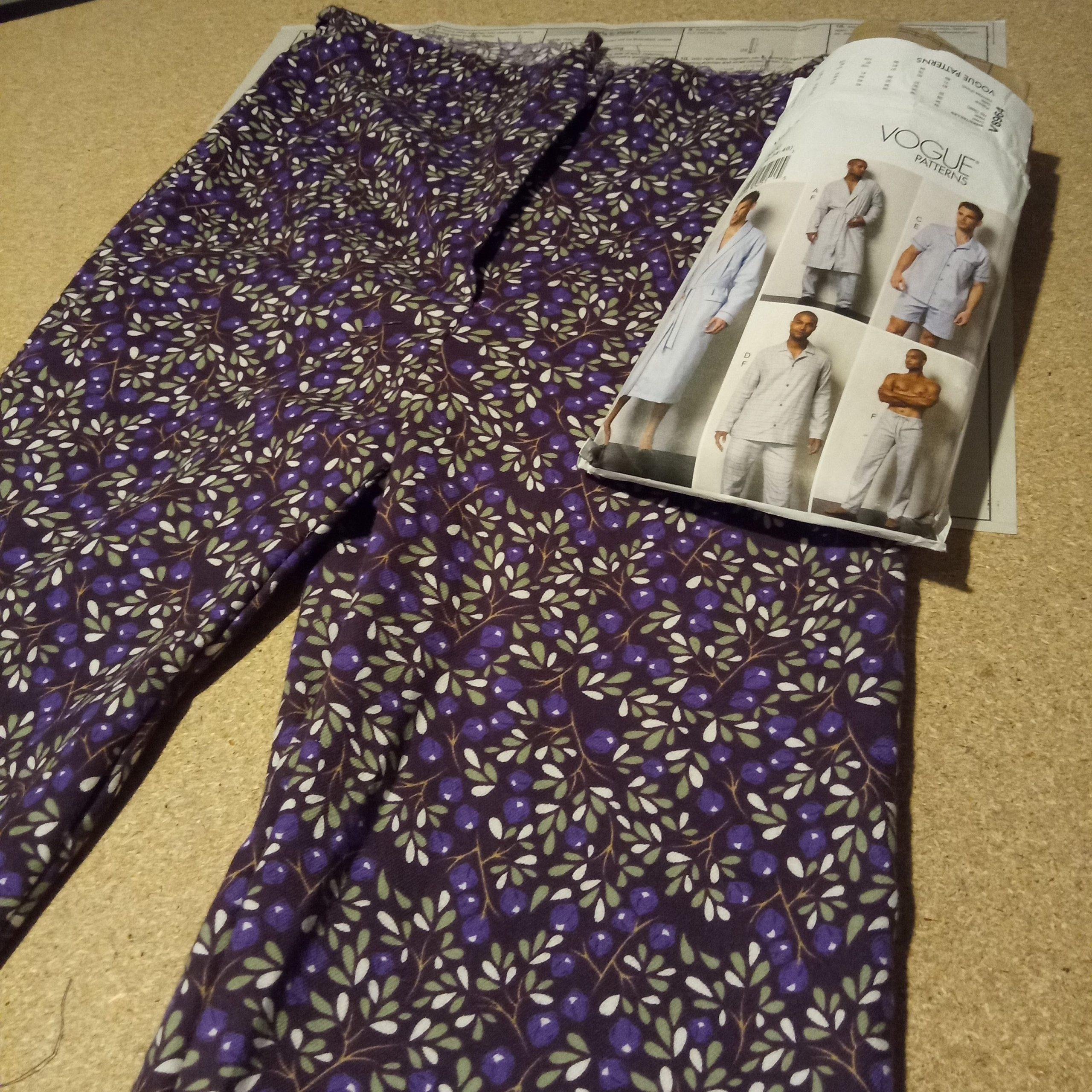 Student Stories - Helen W - Pyjamas
