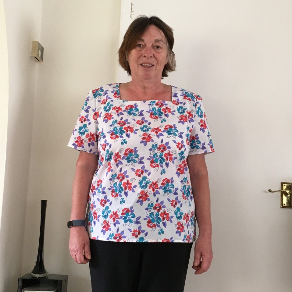 Sewing Student - Liz G - Simplicity Pattern Top