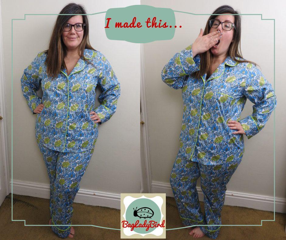 Closet Core Patterns Carolyn Pajamas Sew Along
