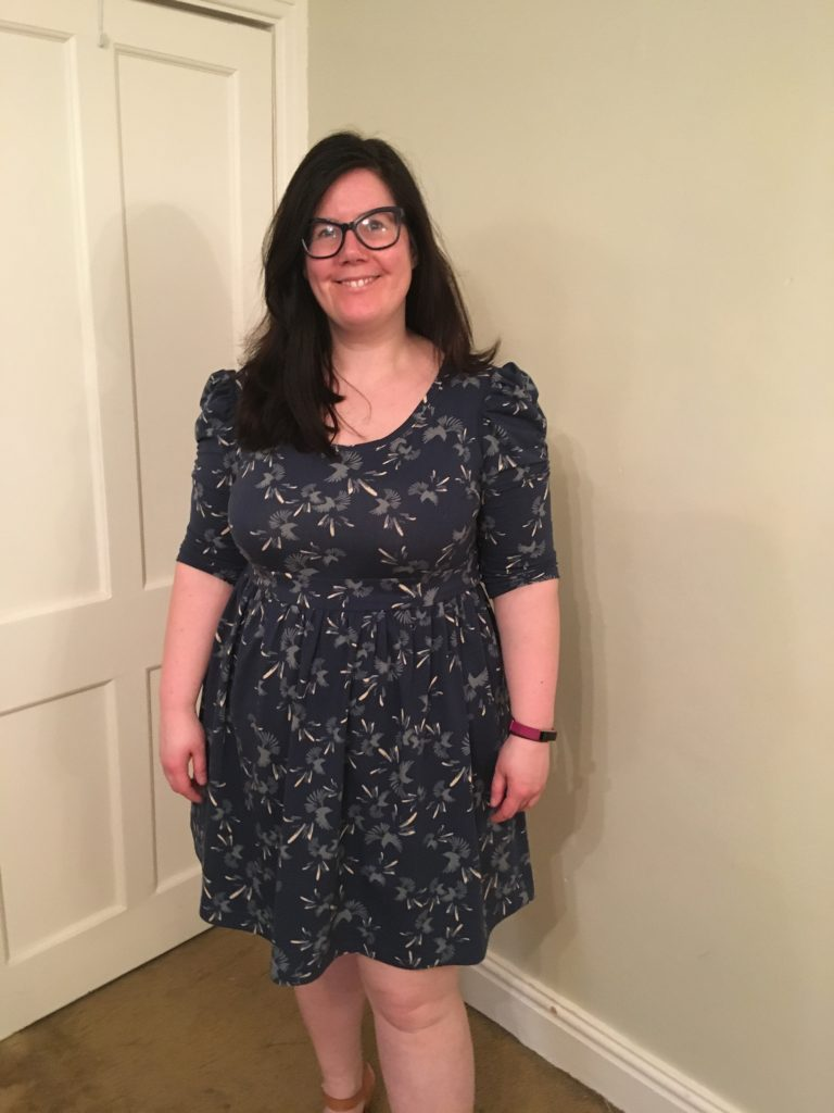 Most made pattern - agnes dress hack