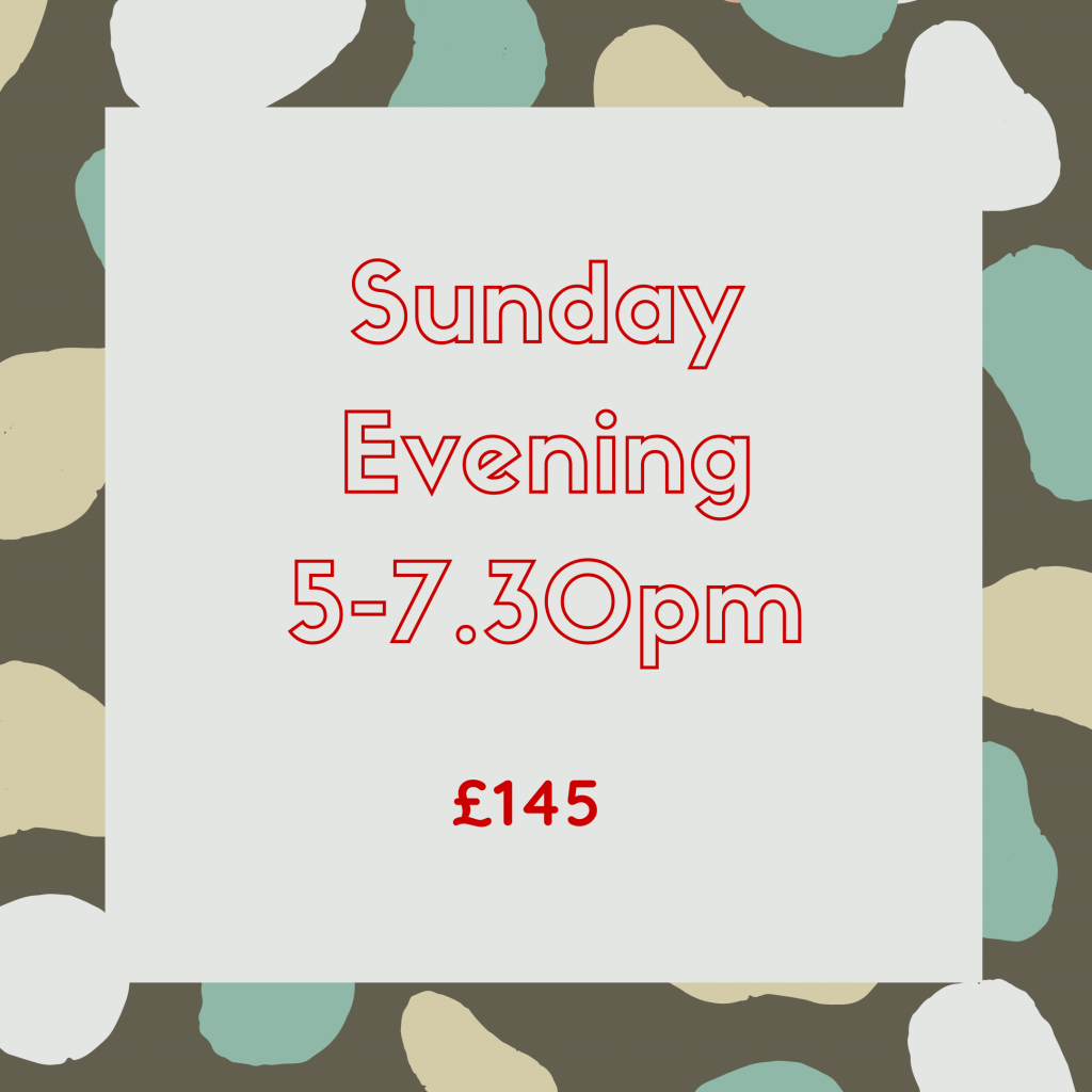 Courses - Sunday Eve