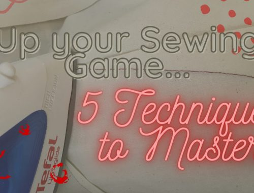 Up your Sewing game