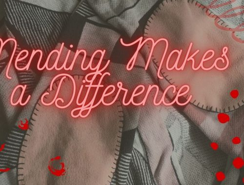 Mending Makes a Difference