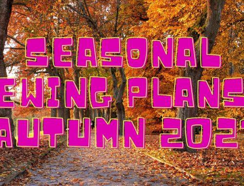 seasonal sewing plans